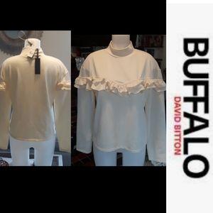 size L NWT Buffalo David bitton sweater